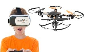 Drone casque réalité virtuelle