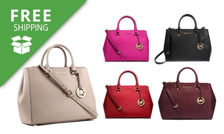 7fa37d3878375e Free Shipping: Michael Kors Medium Sutton Handbag   Australia ...