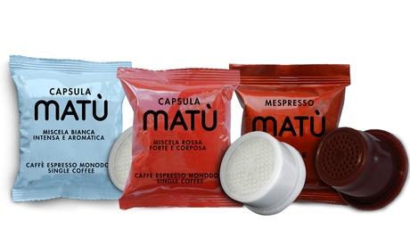 Capsule Matù caffè compatibili per Lavazza Espresso Point, A Modo mio, Nespresso e macchine universali
