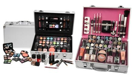 Vanity beauté avec 51, 60 ou 102 produits de maquillage inclus