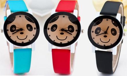 Unisex Panda Dial Watch
