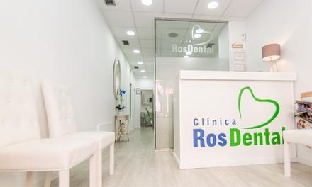 1 o 2 blanqueamientos dentales led con limpieza para una o dos personas desde 39,95 € en Clínica Ros Dental