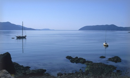1- or 2-Night Stay at The Deer Harbor Inn on Orcas Island, WA