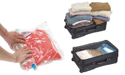 1 of 2 sets compressiezakken voor koffer