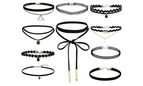 1 o 2 packs de 10 chokers