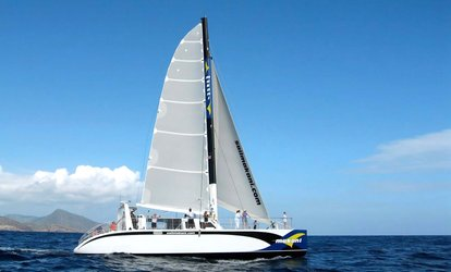 Afternoon Sail, Dinner Cruise, or Snorkeling & Lunch Sail for a Child or Adult from Makani Catamaran (67% Off)