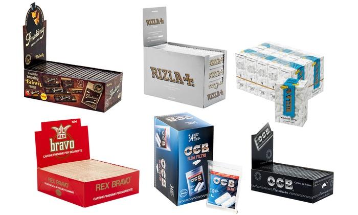1 BOX 100 LIBRETTI REGULAR ARGENTO CARTINE ENJOY FREEDOM SILVER CORTE