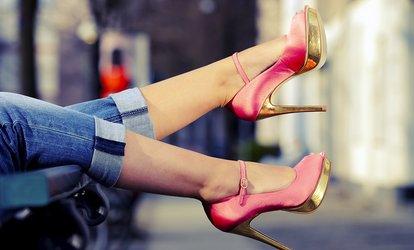 image placeholder image for Ladies' or Men's Heel Repair or Credit Toward  Shoe and Beg Repairs at