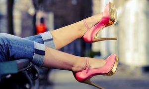 Houston Shoe Hospital: Ladies' or Men's Heel Repair or Credit Toward Shoe and Beg Repairs at Houston Shoe Hospital (Up to 53% Off)