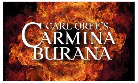 Tickets voor Carl Orff's Carmina Burana in Apeldoorn en in Den Haag