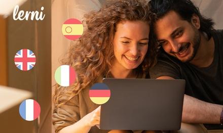 5 cursos de idiomas de 1 año para 1, 2 o 5 personas y acceso prémium con Lerni (hasta 98%de descuento)