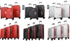 Mirage Star Hardsided Spinner Luggage Set with Lock & USB Port (3-Pc.)