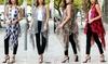 Riah Fashion Women's Printed Vest Kimono