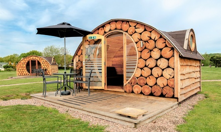 Warwickshire: Snug or Beehive Stay for Up to Four at Riverside Park, Stratford upon Avon