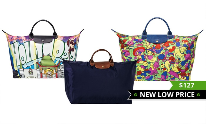 89133c6f9e3e Longchamp Travel Bags | Groupon