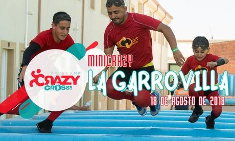 Inscripción a la carrera de obstáculos hinchables el 18 de agosto de 2018 en La Garrovilla por 10,95 €