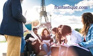 Frantastique: 6, 12 od. 24 Monate Online-Training für Französisch, optional mit Betreuung & Diplom, bei Frantastique(bis 37% sparen*)