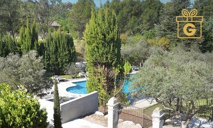 St-Rémy-de-Provence : 1 à 2 nuits, petit-déjeuner, modelage et spa en option à l'Hôtel Villa Glanum et Spa pour 2 pers.