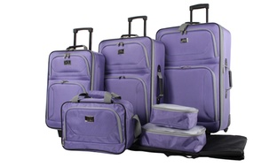 7-Pc. Verdi Quest Premium Rolling Luggage Set