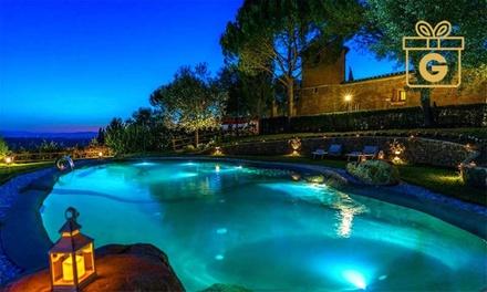 Castello in Toscana 4*L: 1 notte con colazione, cena e Spa per 2 Castello di Leonina Relais