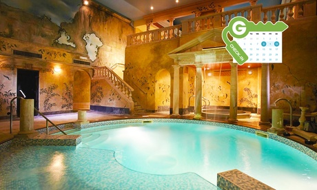 Kent: Comfy or Luxury King Room for Two with Breakfast, Dinner Credit and Spa at 4* Rowhill Grange Hotel and Utopia Spa