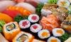 Menu sushi d'asporto da 40 o 80 pezzi