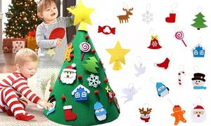 Arbre de Noël feutrine à décorer