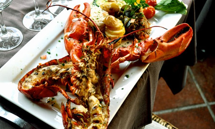 Homard grill pour 2 cours saleya chez freddy groupon - Accompagnement homard grille ...