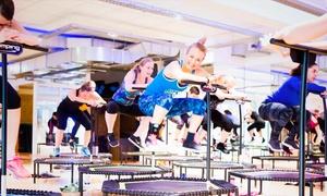 Gymflow GmbH: 5 oder 10 Sportkurse nach Wahl, z. B. Jumping Fitness oder Pilates, bei Gymflow.com (bis zu 40% sparen*)