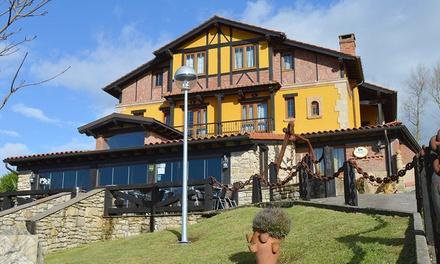 Cantabria: habitación doble para 2 personas con desayuno y cena en Hotel Posada el Valle