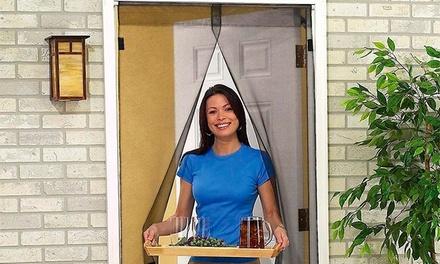 Uma, duas ou três cortinas antimosquitos com fecho magnético desde 12,90€