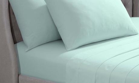 Sábana bajera o 2 almohadas de algodón egipcio