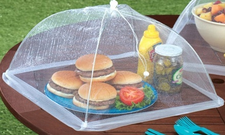 One, Two, Three or Four Mesh Screen Food Cover Tents