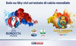 Sky: Sky TV più Sky Calcio o Sky Sport per 24 mesi a 21,90 € al mese invece di 33,90 €, risparmia 288 €