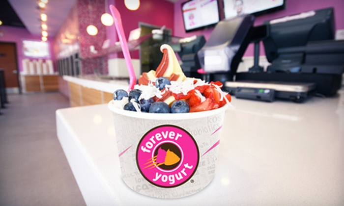 Forever Yogurt - Madison: $5 for $10 Worth of Self-Serve Frozen Yogurt at Forever Yogurt