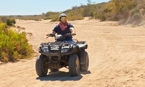Adventure Horse Riding: Quad Bike Experience from R499 for Two with Optional Accommodation at Adventure Horse Riding (Up to 62% Off)