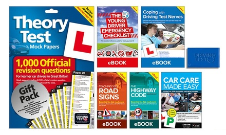 One or Two The Learner Driver Gift Packs: Theory Test Papers and Driving Test PC/DVD
