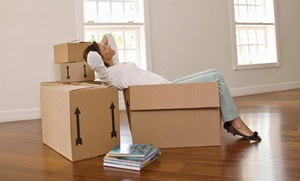 Power Moves: 120 Minutes of Moving Services with Two Movers and Use of Two Wardrobe Boxes from Power Moves (55% Off)