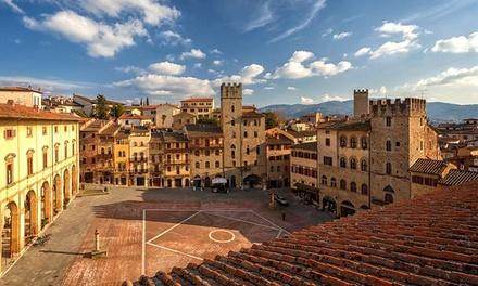 Arezzo: appartamento per 2 persone con colazione o mezza pensione a 79€euro