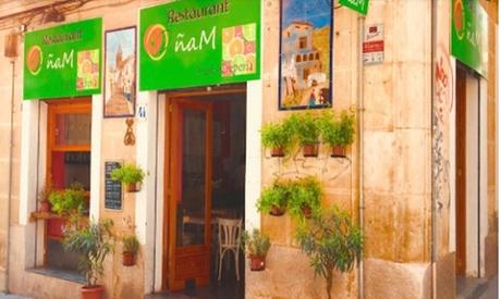 Menú de crepes para 2 o 4 personas con entrante, principal, postre y bebida desde 16,90 € en ÑAM Crepería Restaurante Oferta en Groupon