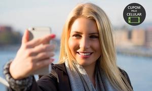Cássia Fashion Hair: Escova progressiva de argan (opção com manicure, design de sobrancelha e corte) no Cássia Fashion Hair – Vila Industrial