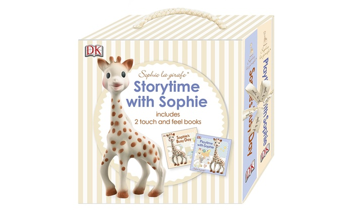 One-, Two- or Three-Pack of Sophie La Giraffe Storytime Books with Sophie from £8.99