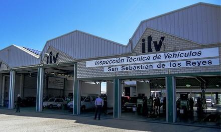 ITV con tasas incluidas para vehículos gasolina, diésel o motocicletas desde 29,95€ en ITV Go San Sebastián de Los Reyes