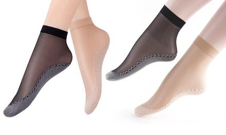 1 of 2 sets sokken voor dames