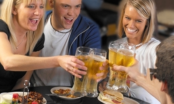 Kingy's Pizza Pub - South Columbus: $10 for $20 Worth of Pizza, Ribs, and Subs at Kingy's Pizza Pub in Canal Winchester