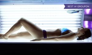 New Sun Lounge: 10 docce solari a bassa pressione o lampade trifacciali viso al New Sun Lounge (sconto 83%)