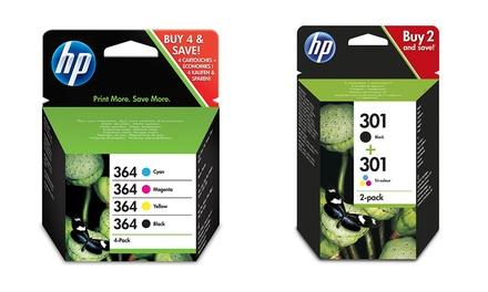 Originele HP 364 en 301 combo inkt cartridges vanaf € 24,99 inclusief verzending tot korting