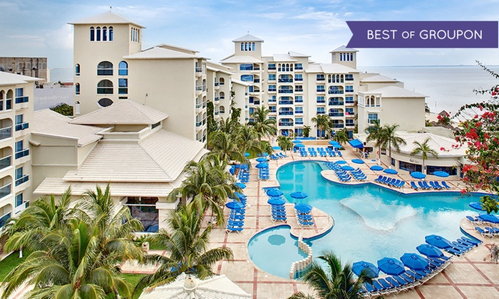All-Incls. Occidental Costa Cancún Trip w/ Air from Vacation Ex