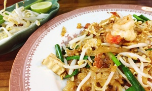 Room 99 Thai & Sushi: $17 for $30 Worth of Pan-Asian Cuisine and Sushi at Room 99 Thai & Sushi