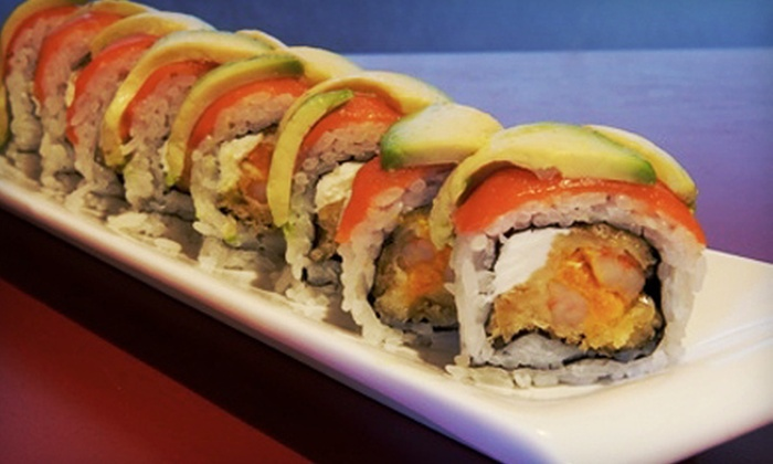 Gen Sushi - Gen Sushi: Sushi Dinner for Two or Four at Gen Sushi in North Vancouver (Up to 54% Off)